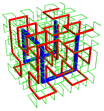 nested Hilbert curves